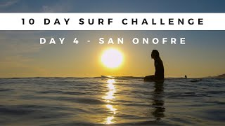 What Surfing in California is Really Like - Day 4 Surfing San Onofre with Sharks