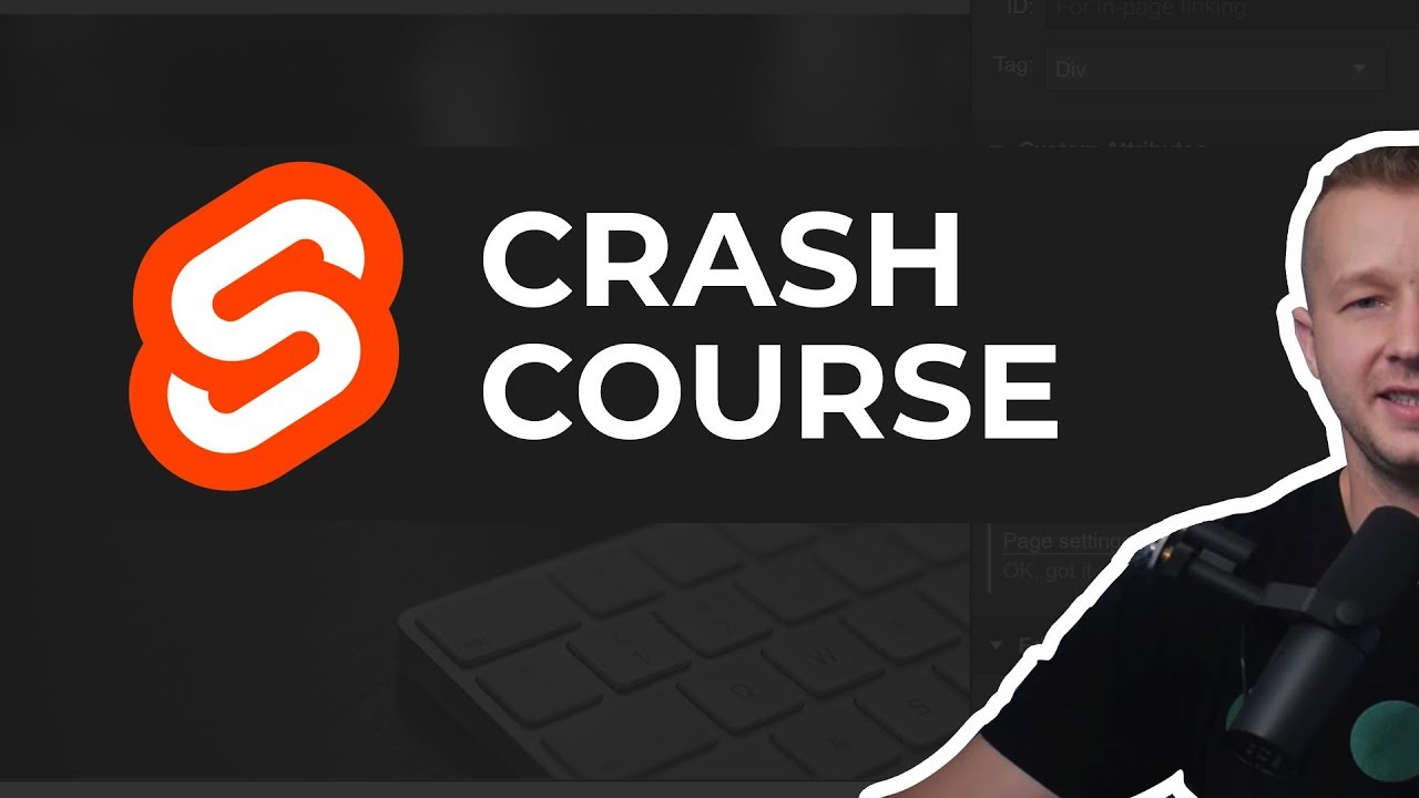 Svelte 3 Crash Course for TOTAL Beginners