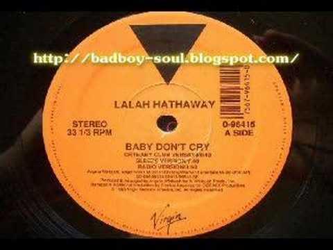 Lalah Hathaway Baby Don't Cry (Virgin) 1990 (Sleeze