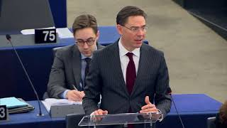 Katainen.- EU will take steps to avoid Trump's metal taxes on its exports