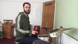 Drum kit with Riccardo Castellani - Right foot technique