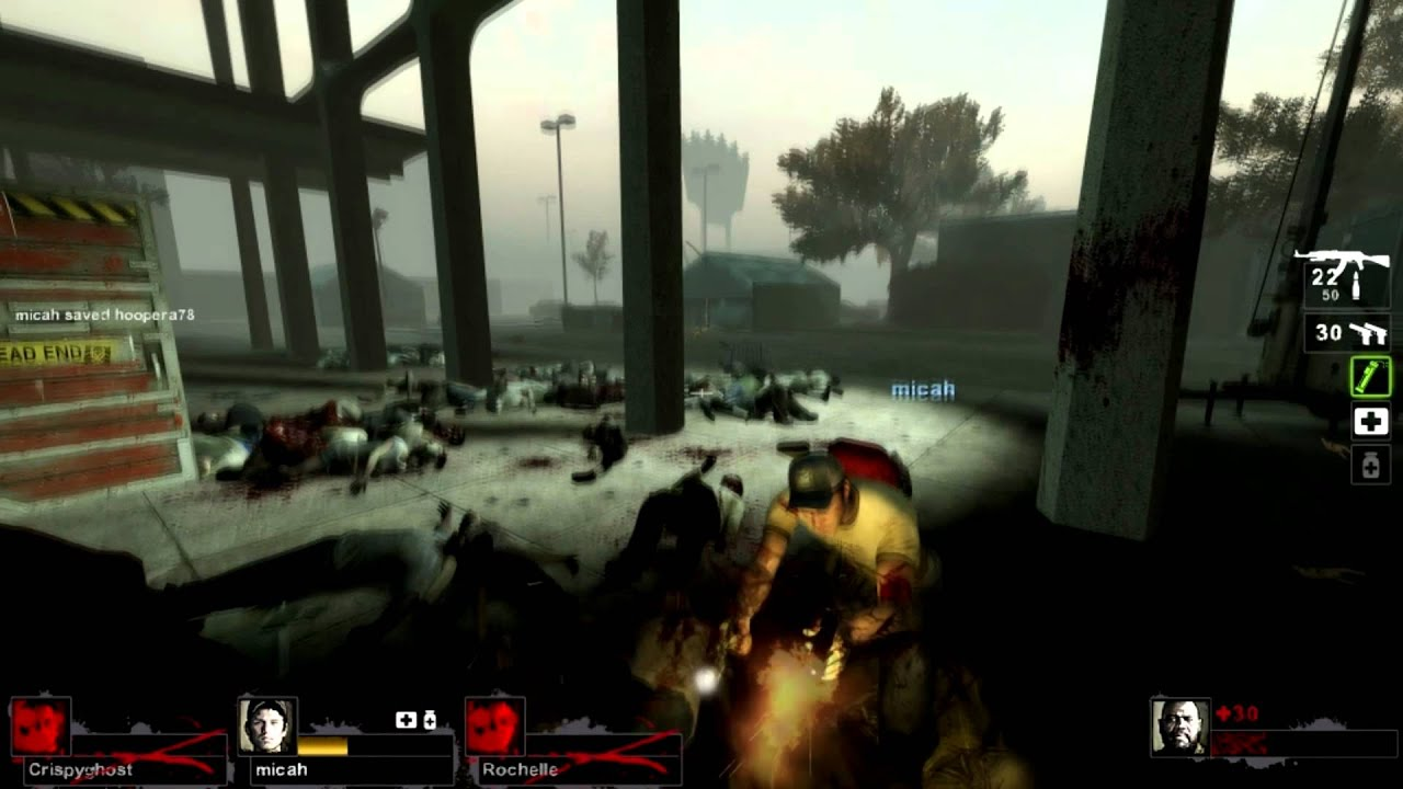 left 4 dead 2 how to get out of mall