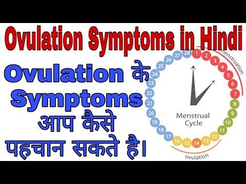 Ovulation symptoms in hindi ।ovulation के symptoms कैसे पहचान सकते है ovulation Day का कैसे पता लगाए