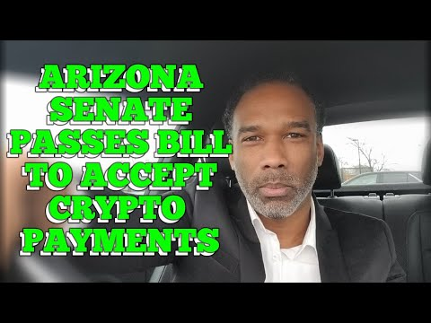 Arizona Senate Passes Bill To Allow Tax Payments In Bitcoin