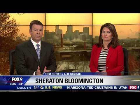 Sheraton Bloomington  Lela Restaurant  KMSPTV FOX 9  3232016