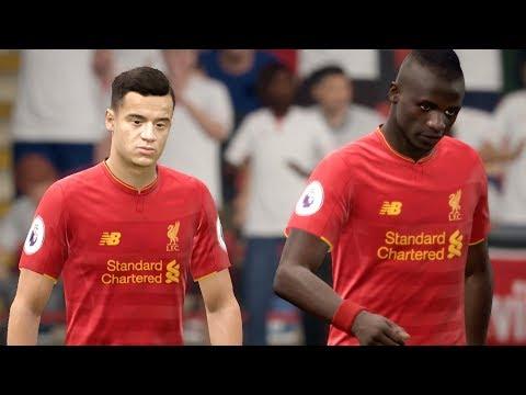 Liverpool vs Sevilla UCL 13 September 2017 Gameplay