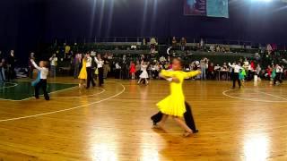 Квикстеп - спортивные бальные танцы дети