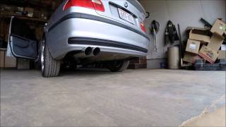 2000 BMW 323i 2.5l straight pipe