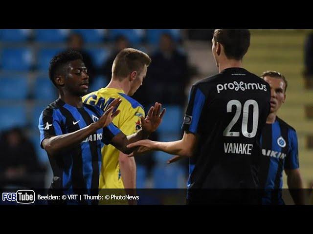 2015-2016 - Croky Cup - 03. Kwartfinale - VC Westerlo - Club Brugge 0-2