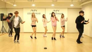 stellar 스텔라 찔려 sting dance practice mirrored