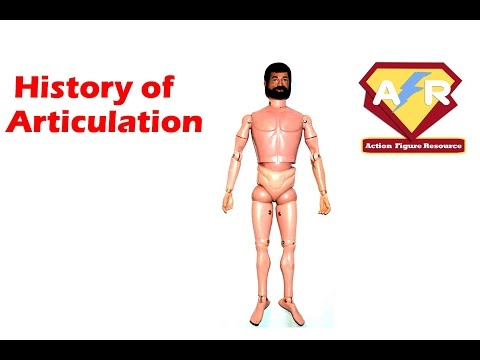 The History of Action Figure Articulation