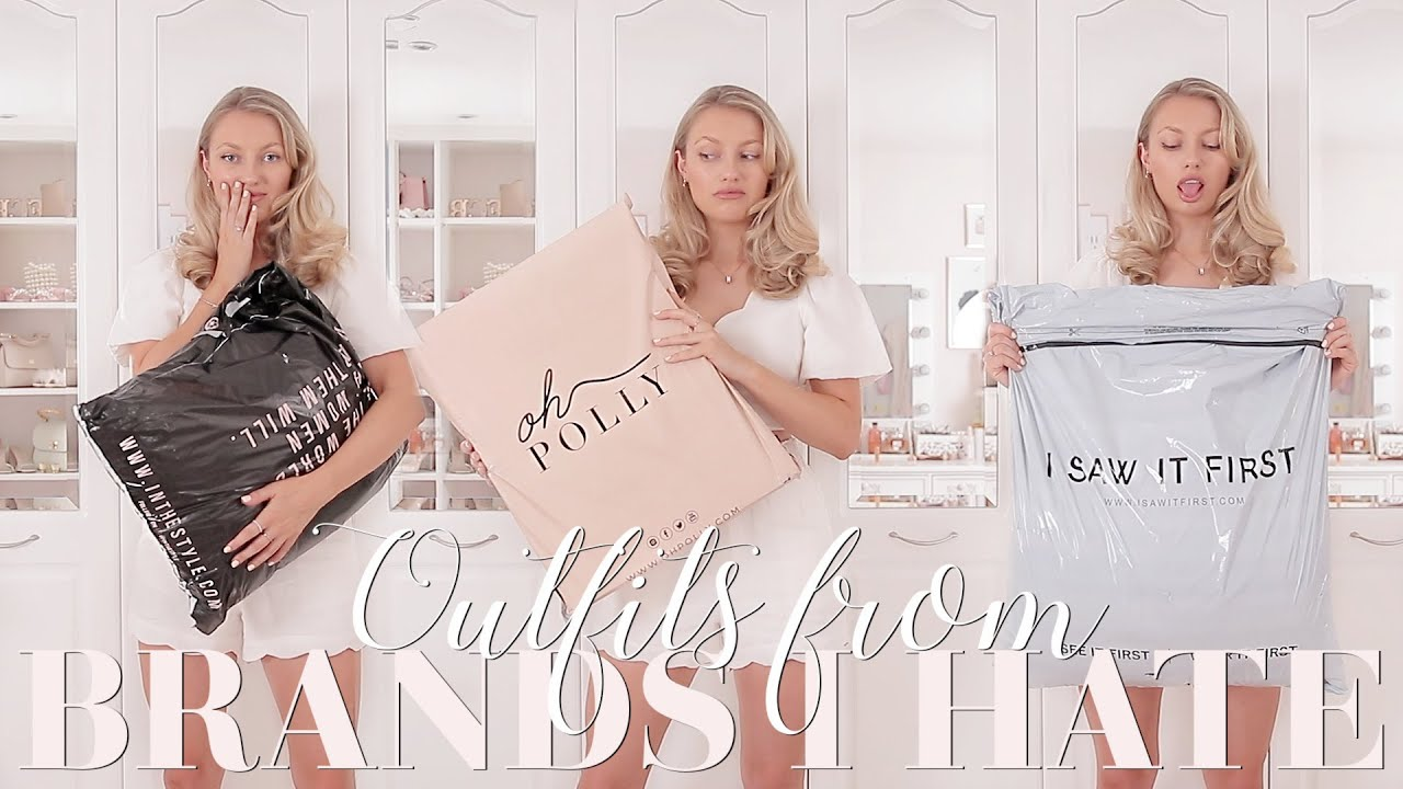 Buying outfits from brands I HATE... part 2! ~ Freddy My Love