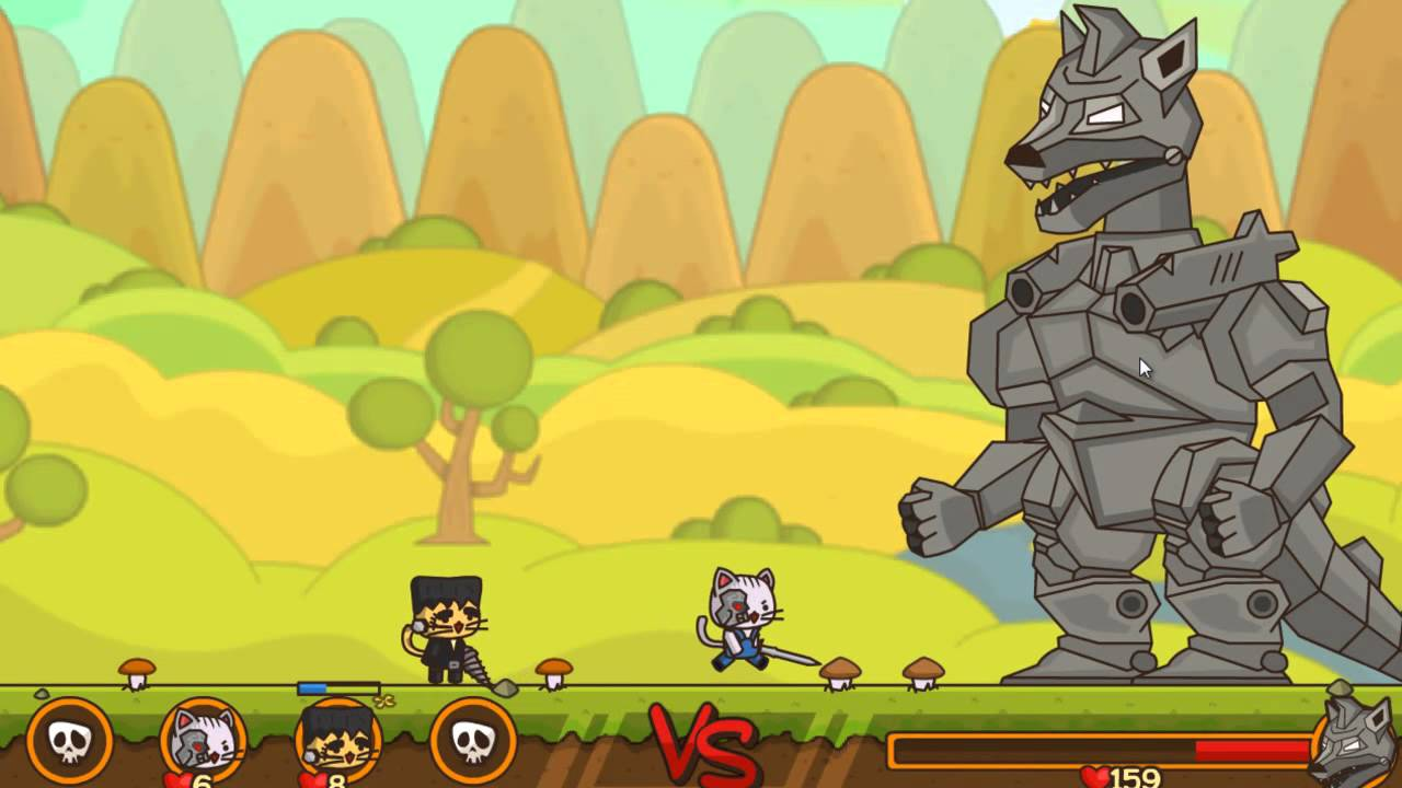ampgt Игра Отряд Котят 2 с читами кодами Strike Force Kitty 2