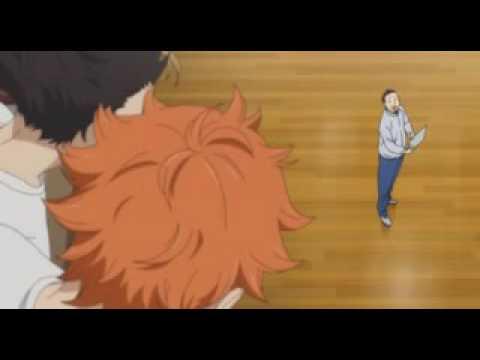 Прикол  из аниме  волейбол