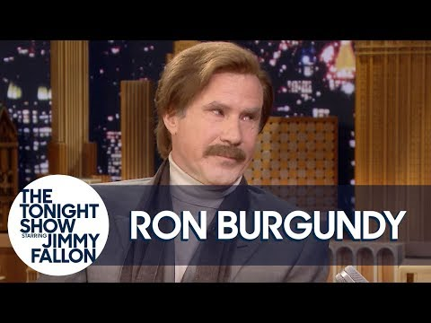 Ron Burgundy Got into a Knife Fight with Kylie Minogue