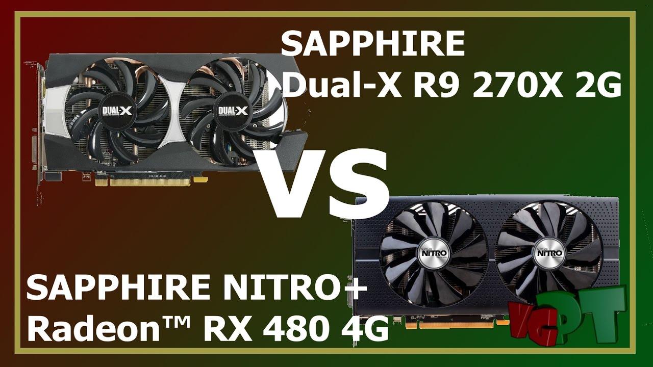 R9 270X vs RX 480 Benchmarks
