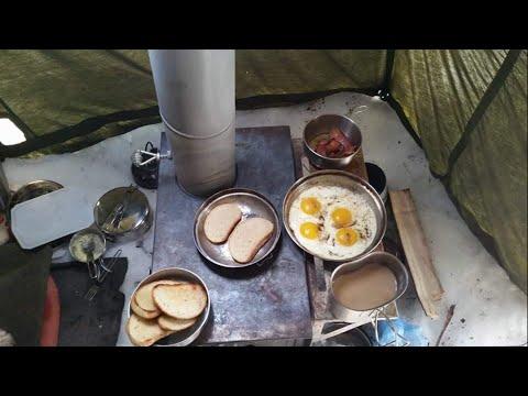 30 winter camping custom atuktents funnycat tv Propane stove left on overnight