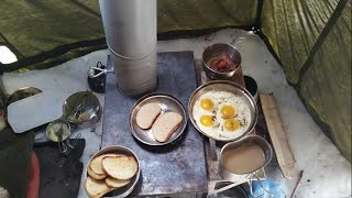 EASTER weekend spring CAMP cooking Kni-co STOVE