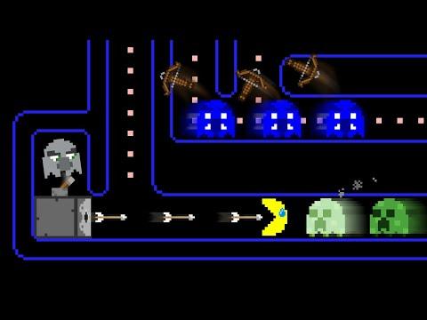 Pac-Man's MINECRAFT Maze Mayhem | The Minebox Animation
