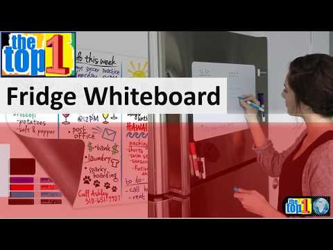 best-magnetic-fridge-whiteboard-|-refrigerator-message-writing-board-with-dry-erase-for-top-kitchen