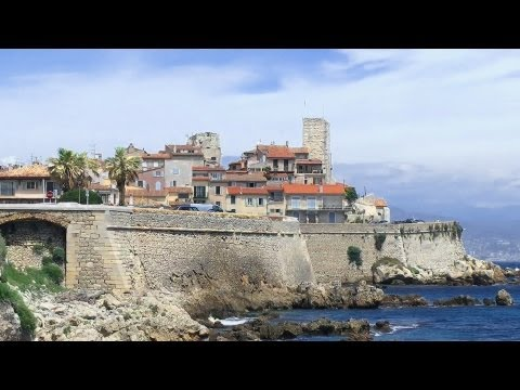 Antibes, French Riviera, France [HD] (videoturysta)