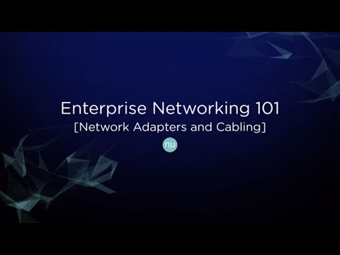 Tech TopX: Enterprise Networking 101 - Network Cabling and Adapter Types