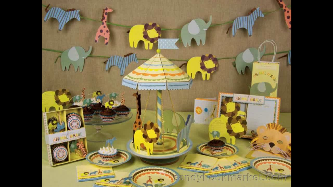 Party City Baby Shower Themes