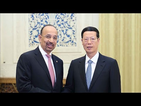 Chinese vice premier meets Saudi energy minister