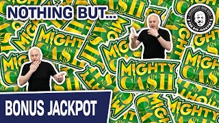 MASSIVE MIGHTY CASH Jackpots & NOTHING BUT! Killer High Limit Slot Compilation