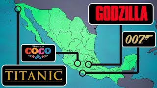TOP 10 FAMOUS MOVIES FILMED IN MEXICO