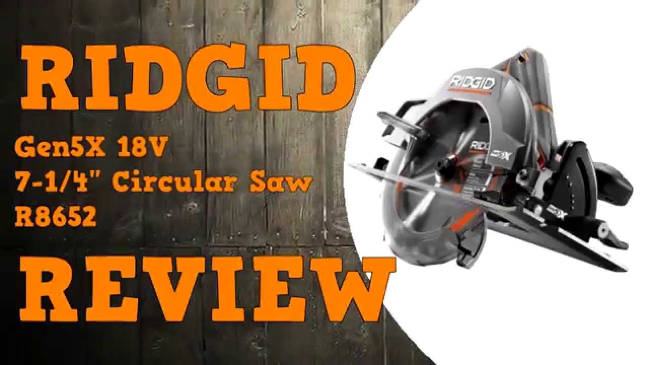 Ridgid gen5x 7 14 circular saw review youtube ridgid gen5x 7 14 circular saw review keyboard keysfo Image collections