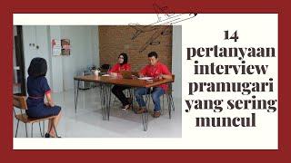 14 Pertanyaan Interview Pramugari yang Sering Muncul #Vlog7
