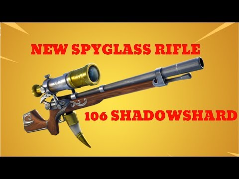 NEW SPYGLASS RIFLE AT 106 SHADOWSHARD! Is it worth it? Fortnite Save The World