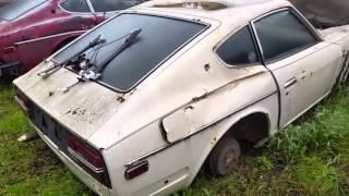 Datsun graveyard 14 Z's