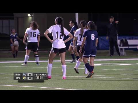 Game of the Week Girls High School Soccer Nimitz vs Irving 2 21 17