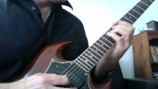 "Black Sabbath Guitar Lesson: ""N.I.B."" solo with tab"