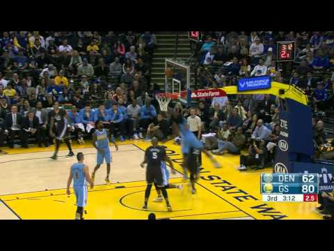 Denver Nuggets vs Golden State Warriors | January 2, 2016 | NBA 2015-16 Season
