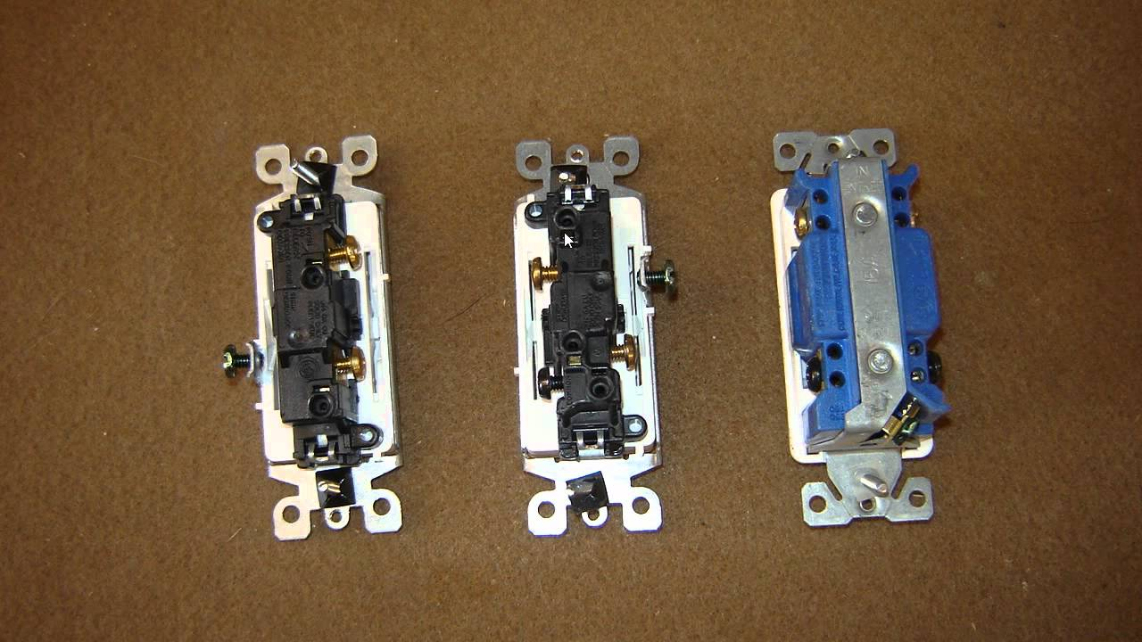Light Switches Youtube Four Way Switch Wiring Diagram Leviton