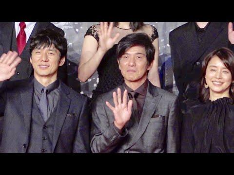 俳優の佐藤浩市や女優の石田ゆり子が12月24日、渋谷のセルリアン東急ホテルで実施された映画『サイレント・トーキョー』の製作発表会見に西島...