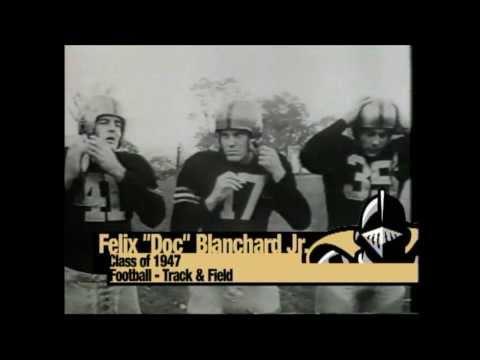"2004 Felix Anthony ""Doc"" Blanchard, Jr."