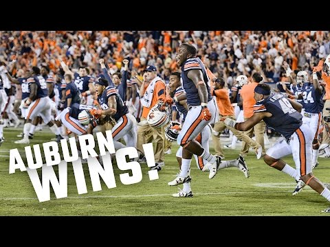 Watch the insane ending and celebration after Auburn's 1813 victory over LSU