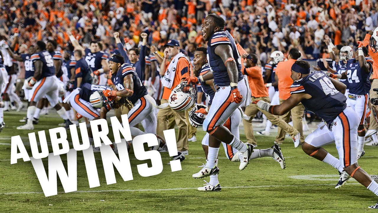 Watch The Insane Ending And Celebration After Auburn S 18 13 Victory Over Lsu