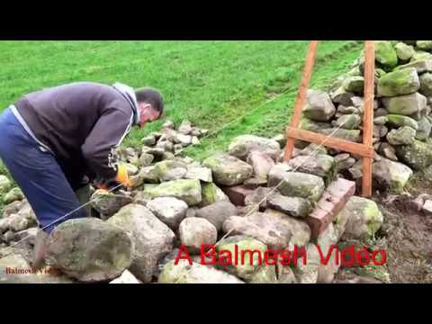 The Ancient Art of Dry-Stone Walling.  Ten Minutes With Tom