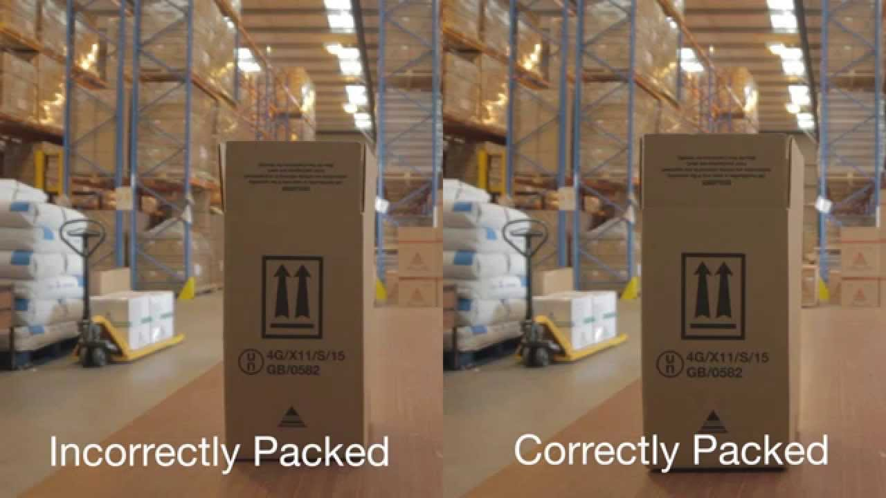 Dangerous Goods Packaging Incorrect Amp Correct Use Youtube