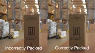 Dangerous Goods Packaging - incorrect & correct use