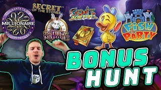 Bonus Hunt Results 01/03/19 - 24 Slot Features!