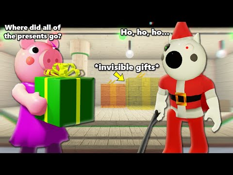 ROBLOX PIGGY CAN WE MAKE INVISIBLE CHRISTMAS GIFTS VISIBLE?