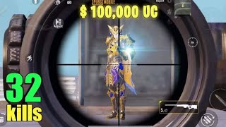 SPENDING $103,000 UC On NEW PHARAOH X-Suit | MAX LEVEL | PUBG MOBILE