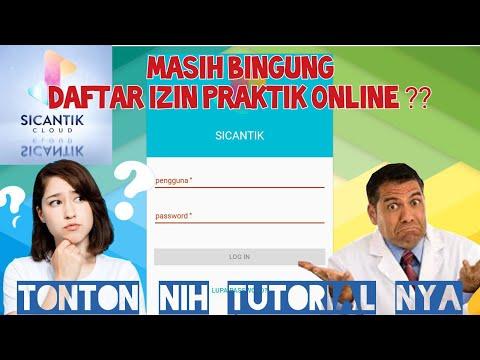 Bingung Daftar SIP Online?? Berikut Cara Daftar SIK/SIP Online Melalui Aplikasi Sicantik