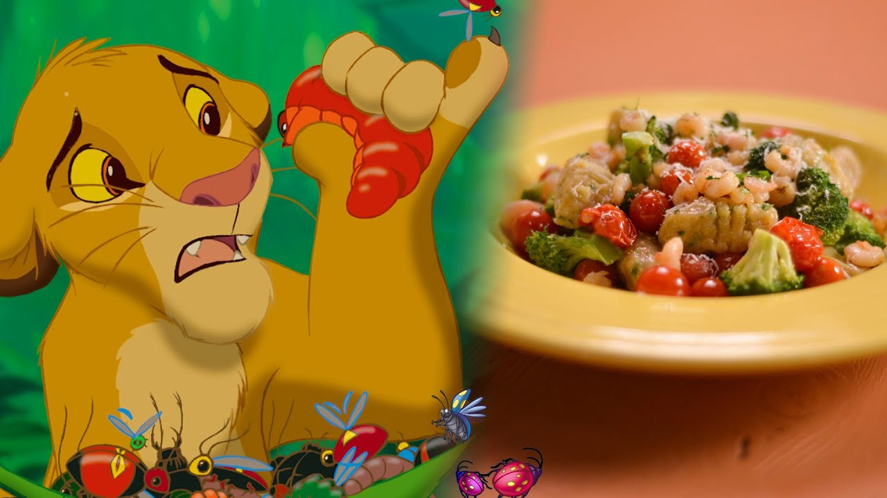 Simbas slimy yet satisfying grub gnocchi recipe inspired by simbas slimy yet satisfying grub gnocchi recipe inspired by disneys lion king youtube forumfinder Gallery